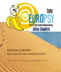 Cartel Festival Europsy Gran Canaria