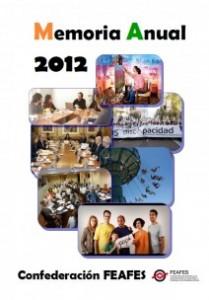 Portada Memoria FEAFES 2012
