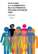 Portada Guia autodefensa personas discapacidad 2009