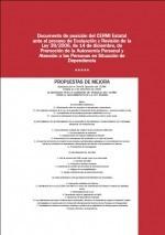 Portada Posicion CERMI Ley Autonomia Personal