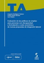 Portada Evaluacion politicas empleo personas con discapacidad