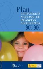 Portada Plan Estrategico Nacional Infancia Adolescencia