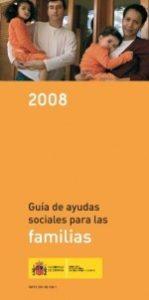 Portada Guia ayudas sociales familias 2008