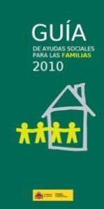 Portada Guia ayudas sociales familias 2010