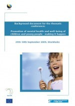 Portada Promotion mental health children young