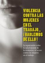 Violencia contra las mujeres en el trabajo: hablemos de ello