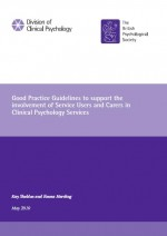 Portada Support involvement service users carers psycholoy services