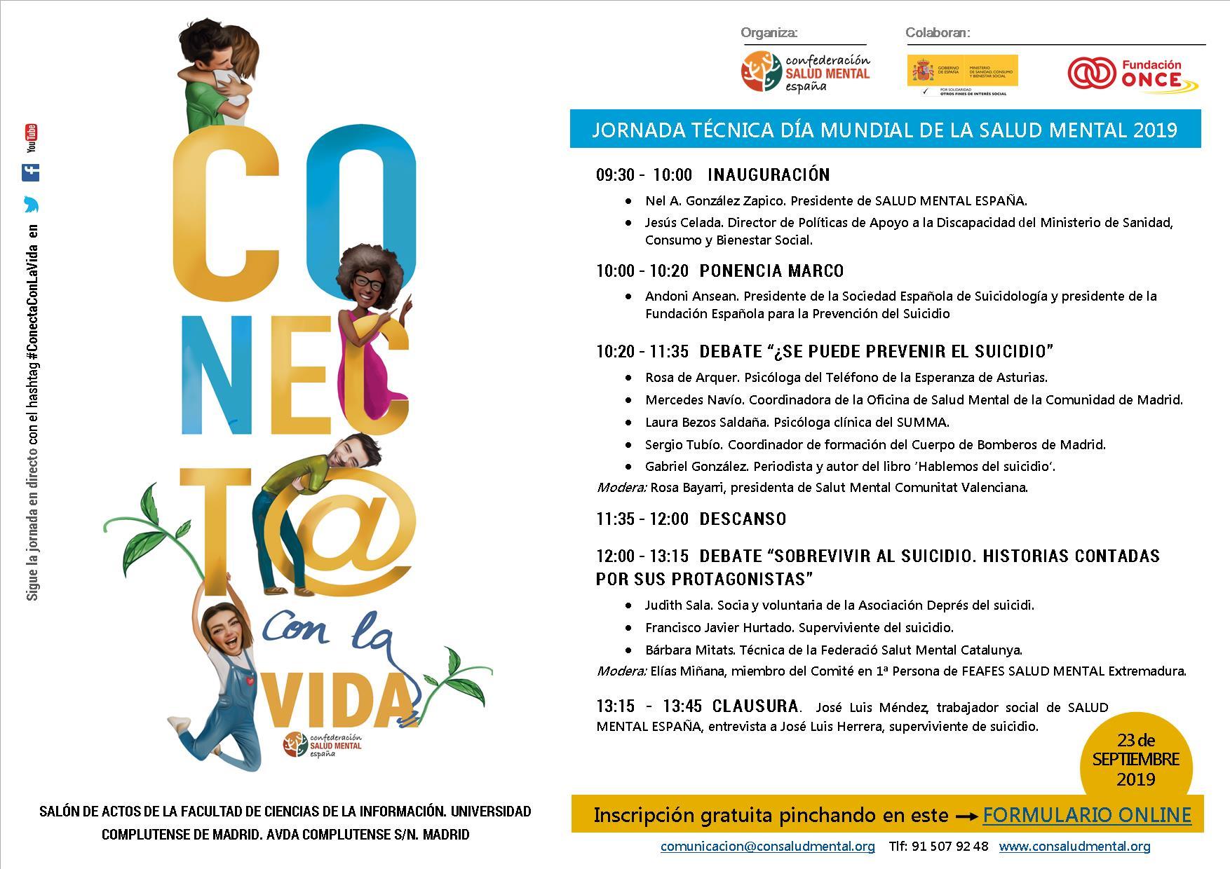 Día Mundial De La Salud Mental Salud Mental España