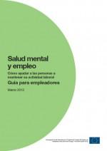 Salud mental y empleo: guía para empleadores