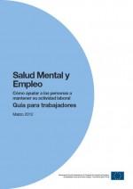 Salud mental y empleo: guía para trabajadores