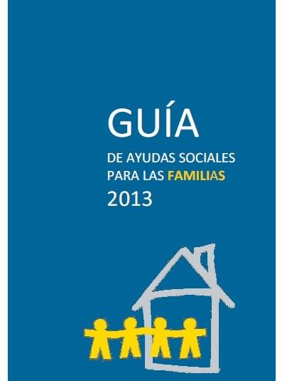 Portada Guia ayudas sociales familias 2013-2