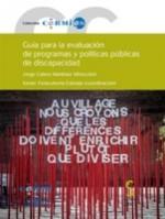 Guía para la evaluación de programas y políticas públicas de discapacidad