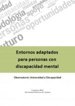 Entornos adaptados para personas con discapacidad mental