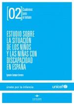 Estudio sobre la situación de los niños y las niñas con discapacidad en España