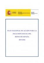 Portada Plan accion inclusion social 2013-2016