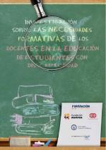 Investigación sobre las necesidades formativas de los docentes en la educación de estudiantes con discapacidad