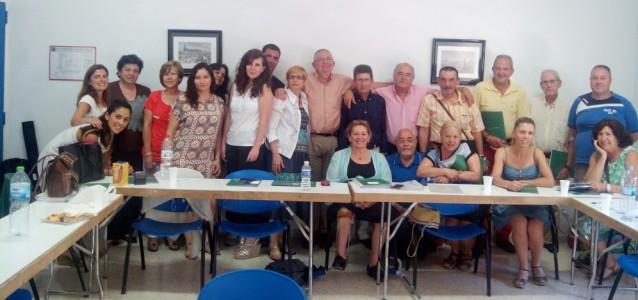 Participantes en la pasada Asamblea de FEAFES Andalucía.