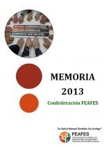 Portada Memoria FEAFES 2013