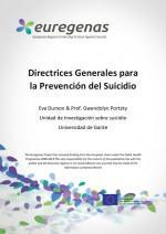 Portada Directrices Generales prevencion suicidio