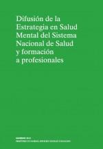 Difusión de la Estrategia en Salud Mental del Sistema Nacional de Salud y formación a profesionales