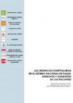 Portada Urgencias hospitalarias SNS