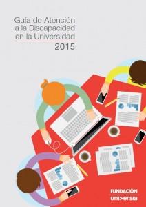 Portada Guia atencion discapacidad universidad 2015