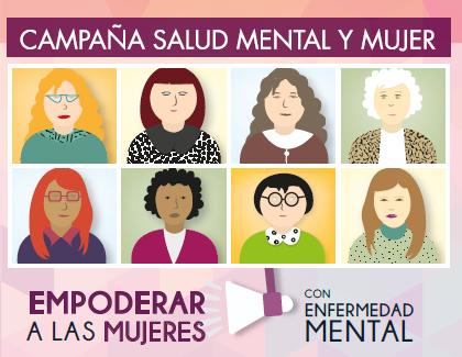 Campaña 'Mujer y Salud Mental' de FEDEAFES