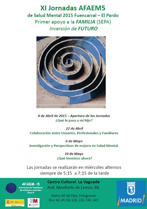 Cartel Jornadas AFAEM5