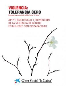 Portada Violencia tolerancia cero