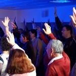 La gira de 'Todos Contamos. Todos Actuamos' tiene una gran acogida en su parada en Murcia