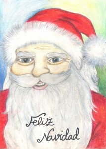 Un Papá Noel en Casa web