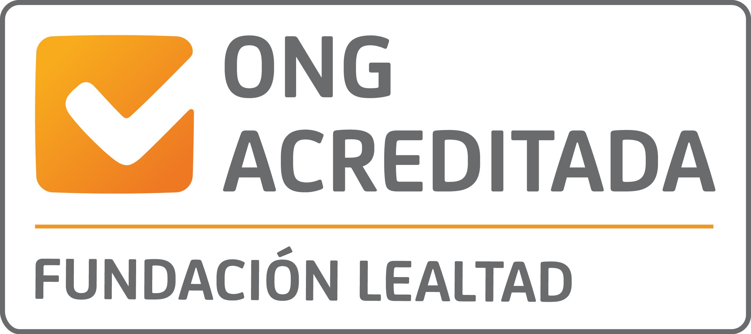 sello ong acreditada Fundación Lealtad
