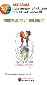 ASCASAM asociación cántabra pro salud mental, Programa de Voluntariado