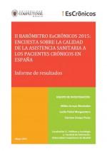II barómetro escrónicos 2015