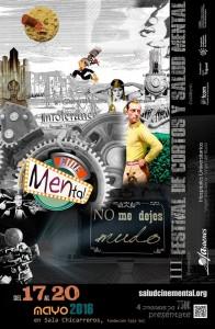 Cartel del III Festival Cine Mental ASAENES