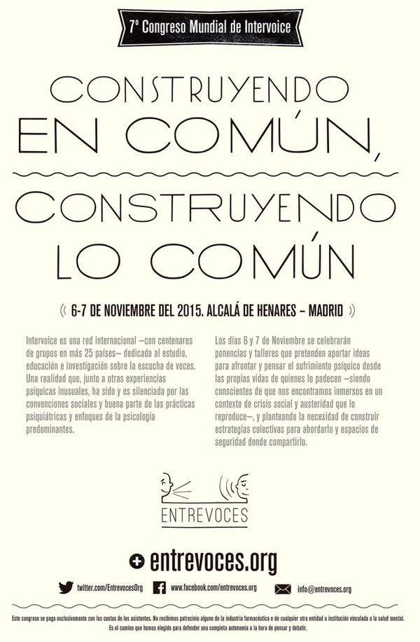 Congreso Entrevoces en la revista Encuentro de SALUD MENTAL ESPAÑA