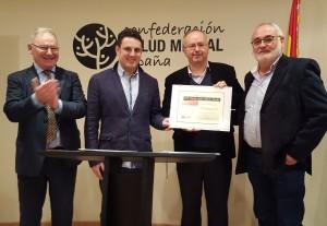 Entrega XVII Premio Jaime Albert Solana a Salud Mental Cataluña
