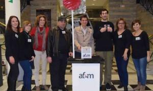 AFEM Burjassot recaudará fondos para financiar las actividades  de la entidad en materia de salud mental.