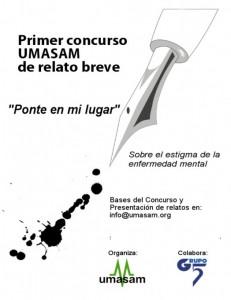 Cartel del concurso de relatos de UMASAM