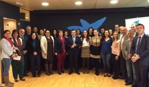 AFES Salud Mental en el acto del programa Incorpora de la Caixa