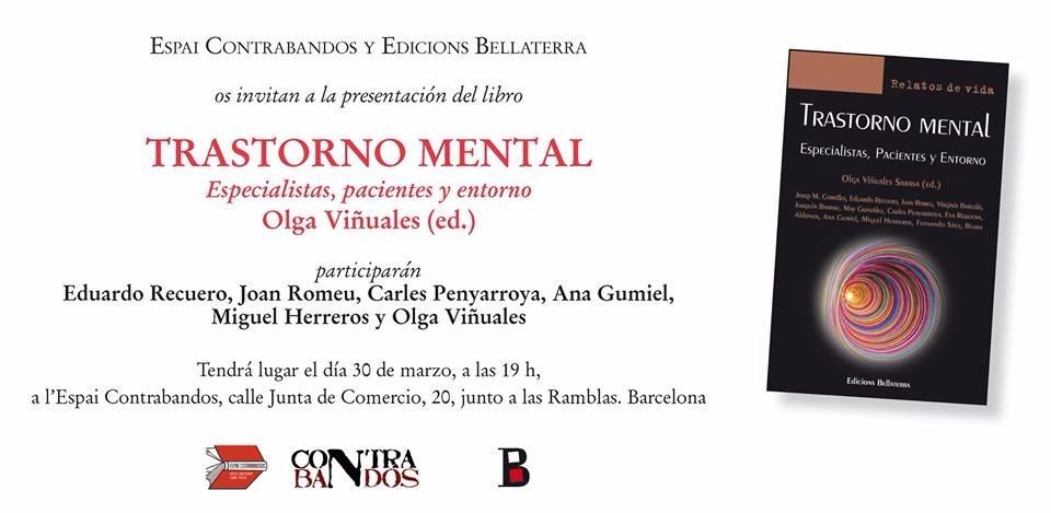 """Presentación del libro """"Trastorno Mental. Especialistas, Pacientes y Entorno"""""""