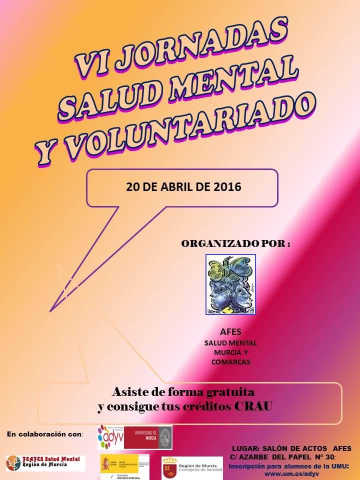Jornadas Voluntariado Salud Mental