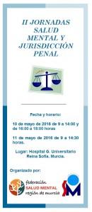 II Jornadas Salud Mental y Jurisdicción Penal de Salud Mental Murcia