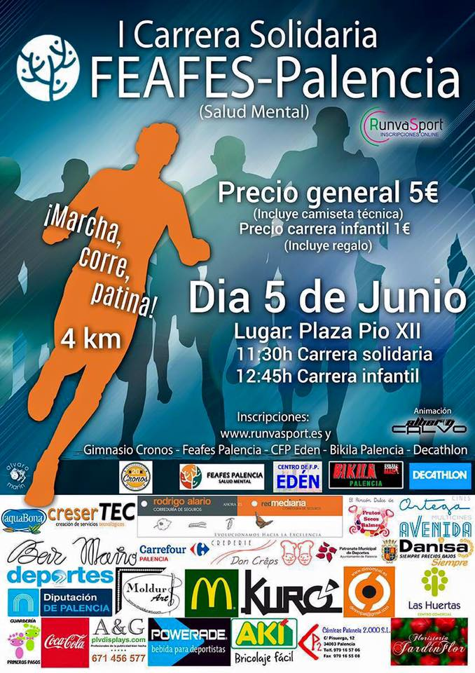 Carrera Salud Mental FEAFES Palencia