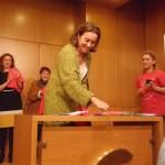 Concepción Gamarra en el acto de FEAFES ARFES PRO SALUD MENTAL