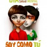 Ilustración Día Mundial de la Salud Mental 2016 del movimiento asociativo reunido en SALUD MENTAL ESPAÑA