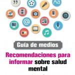 Portada Recomendaciones informar salud mental