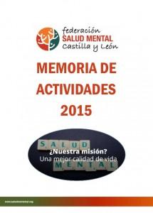 portada memoria actividades salud mental castilla y león