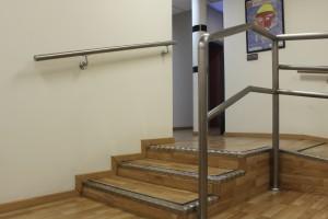 rampa y escaleras de SALUD MENTAL ESPAÑA