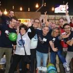 SALUD MENTAL ESPAÑA y Voluntarios Telefónica celebrando el Día Internacional del Voluntario de Telefónica